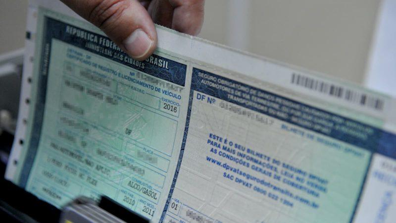 Certificado de Registro e Licenciamento de Veículo