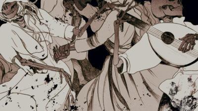 Dança da morte. Ilustração por Angelica Alzona/Gizmodo