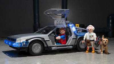 DeLorean da Playmobil