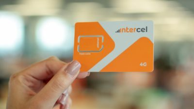 Chip da Intercel, operadora do Banco Inter