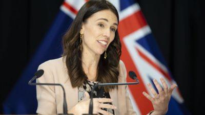 Jacinda Ardern, primeira-ministra da Nova Zelândia.