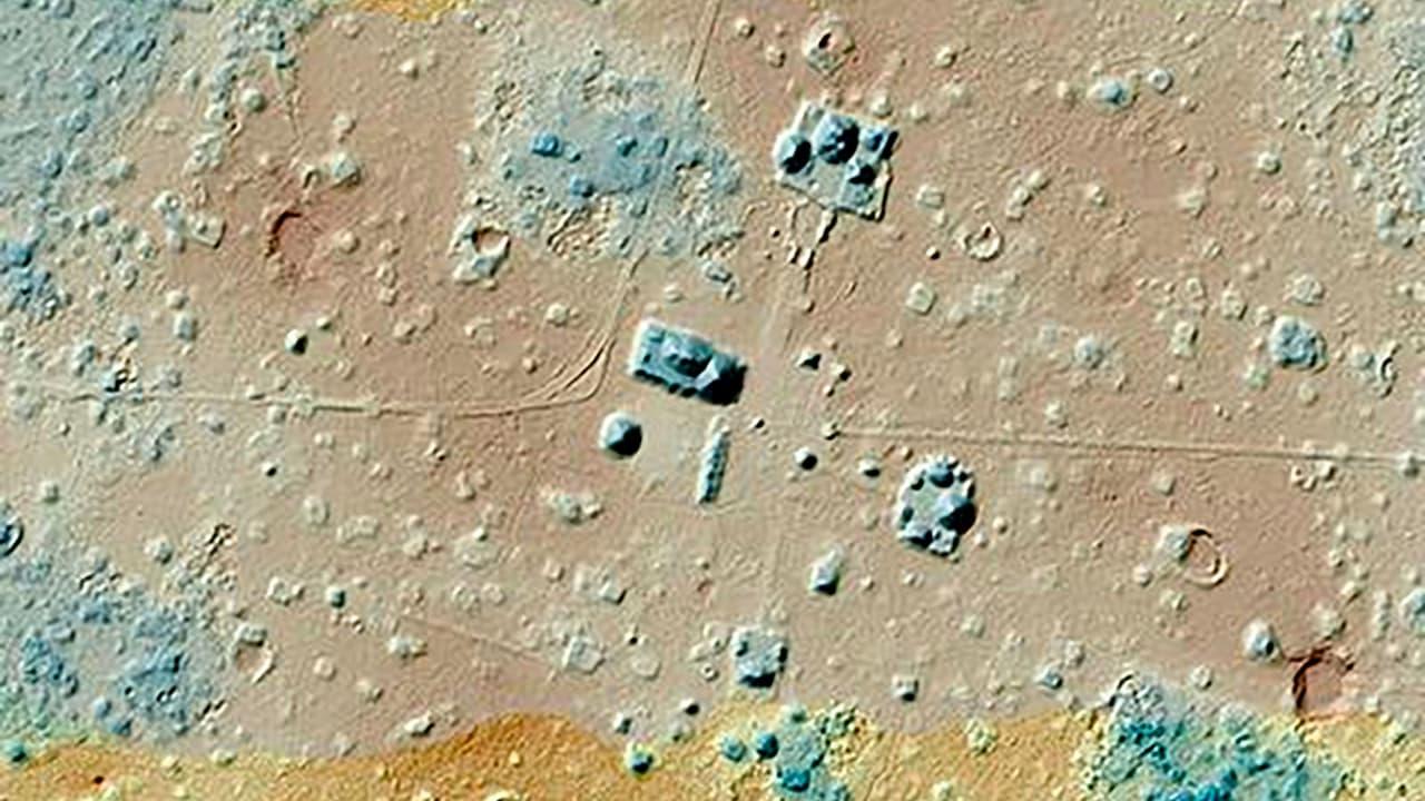 Mapa com a utilização de LiDAR
