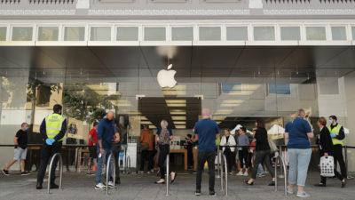 Loja da Apple. Crédito: Getty Images