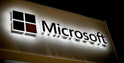 Logotipo da Microsoft. Crédito: Getty Images