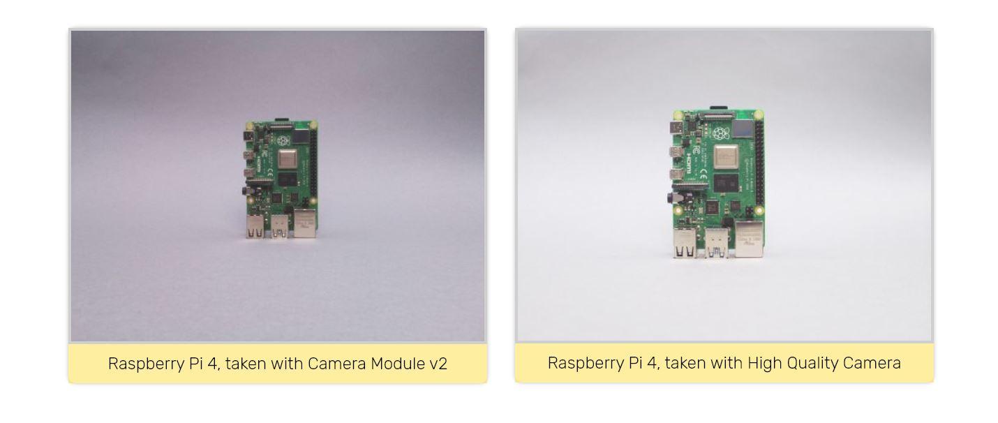 Placa High Quality Camera, da Raspeberry Pi