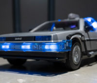 Leds do DeLorean, da Playmobil