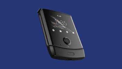 Moto Razr. Crédito: Motorola