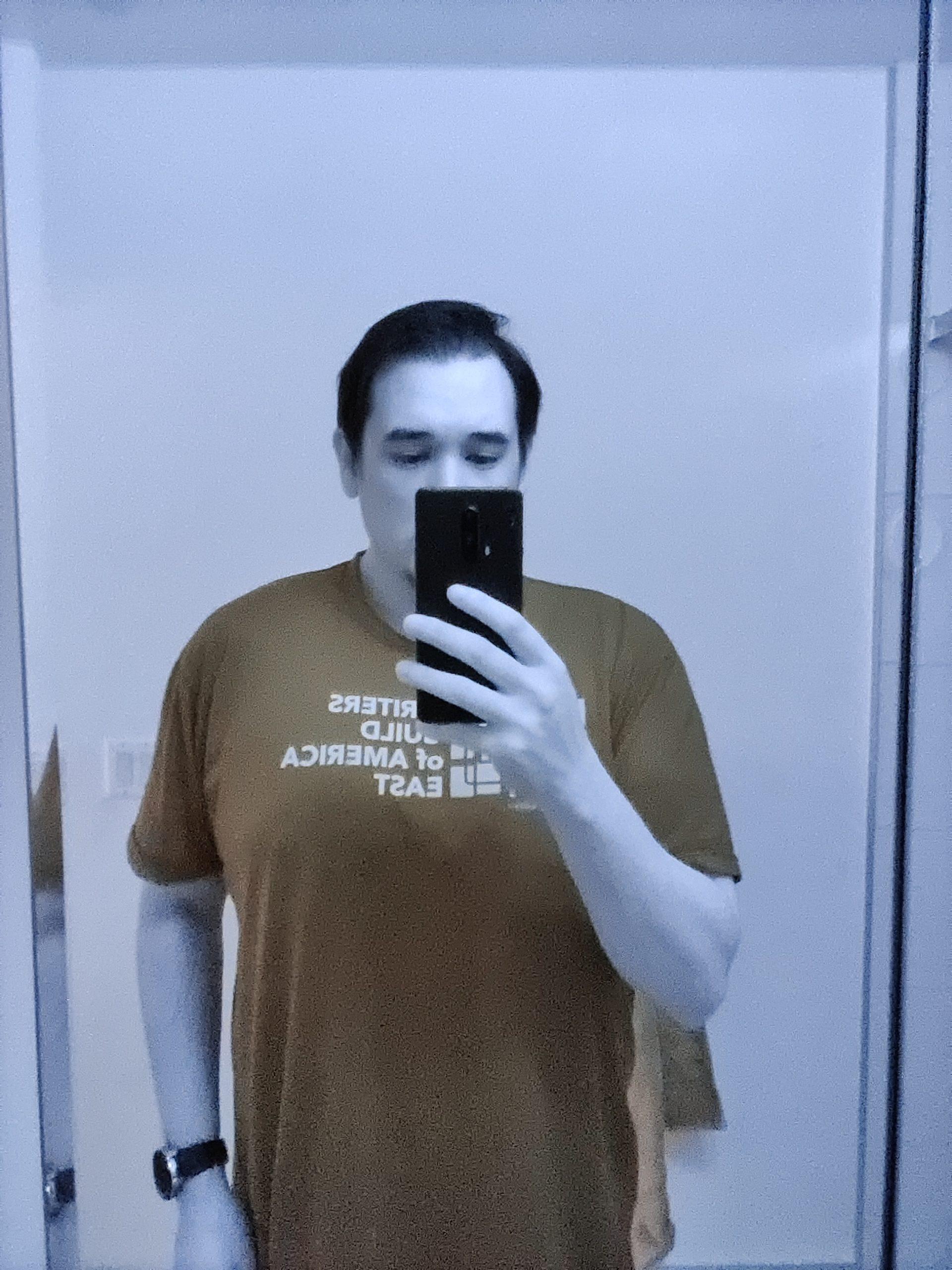 Selfie com filtro Photochrom, do One Plus 8 Pro