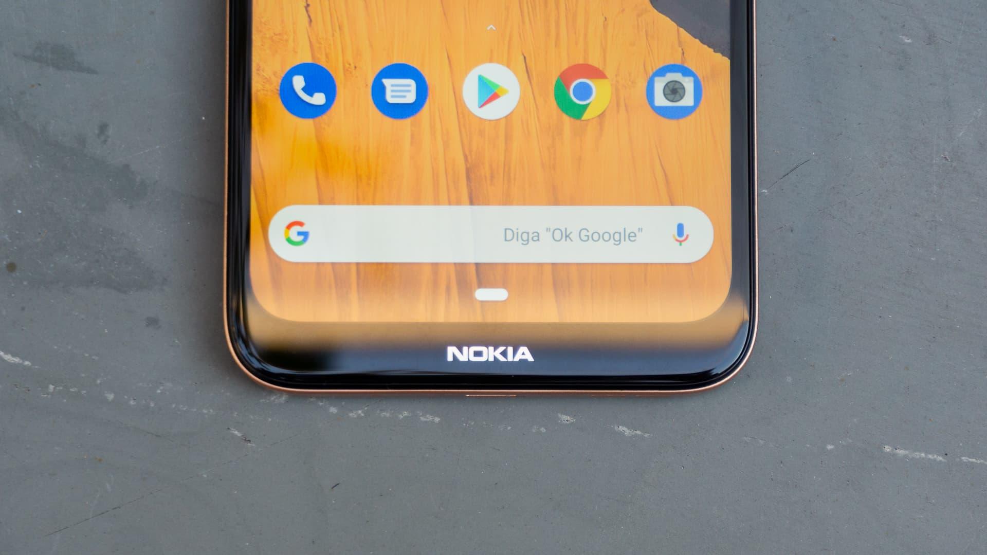 Detalhe do Nokia 2.3