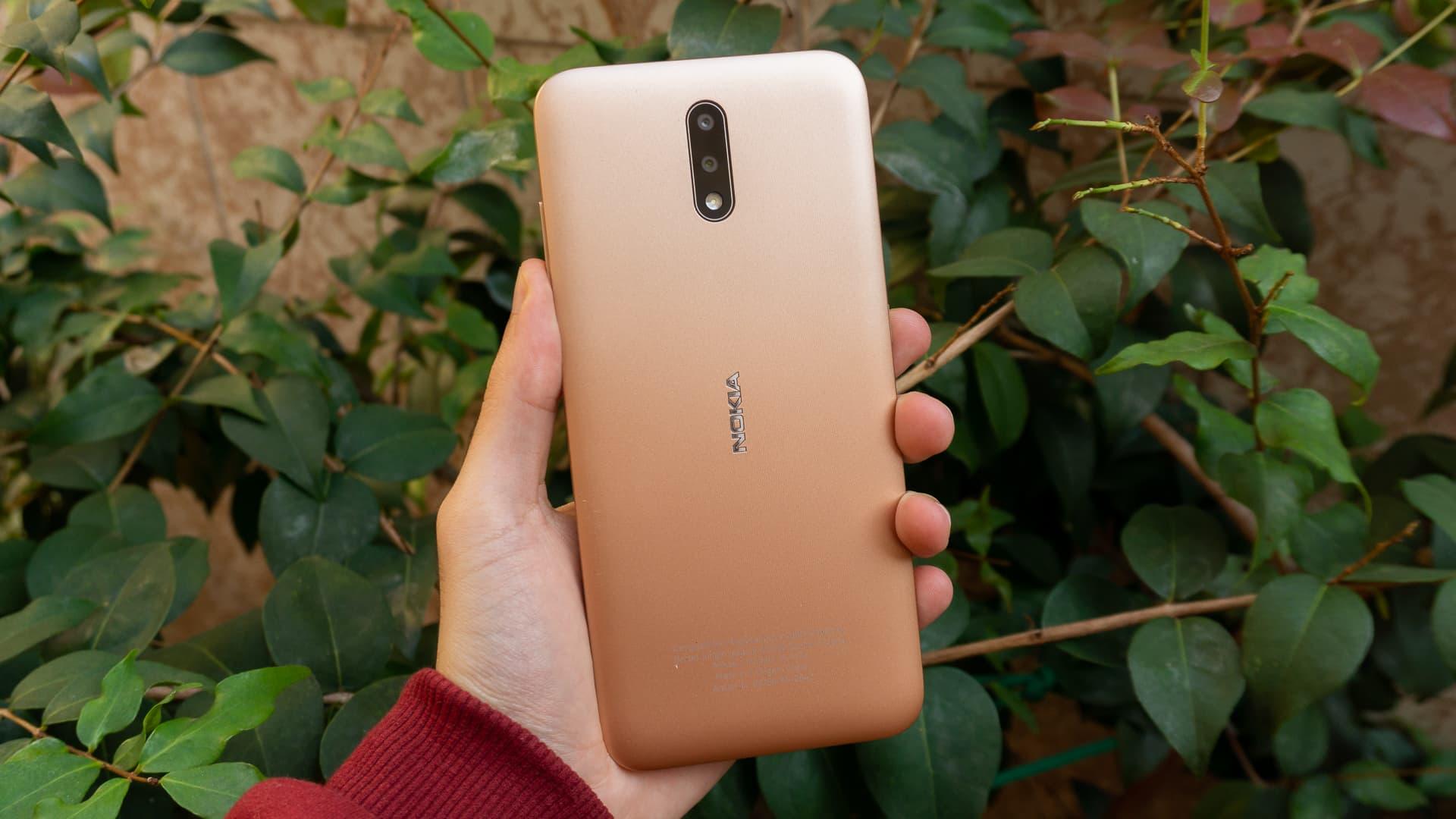 Traseira do Nokia 2.3