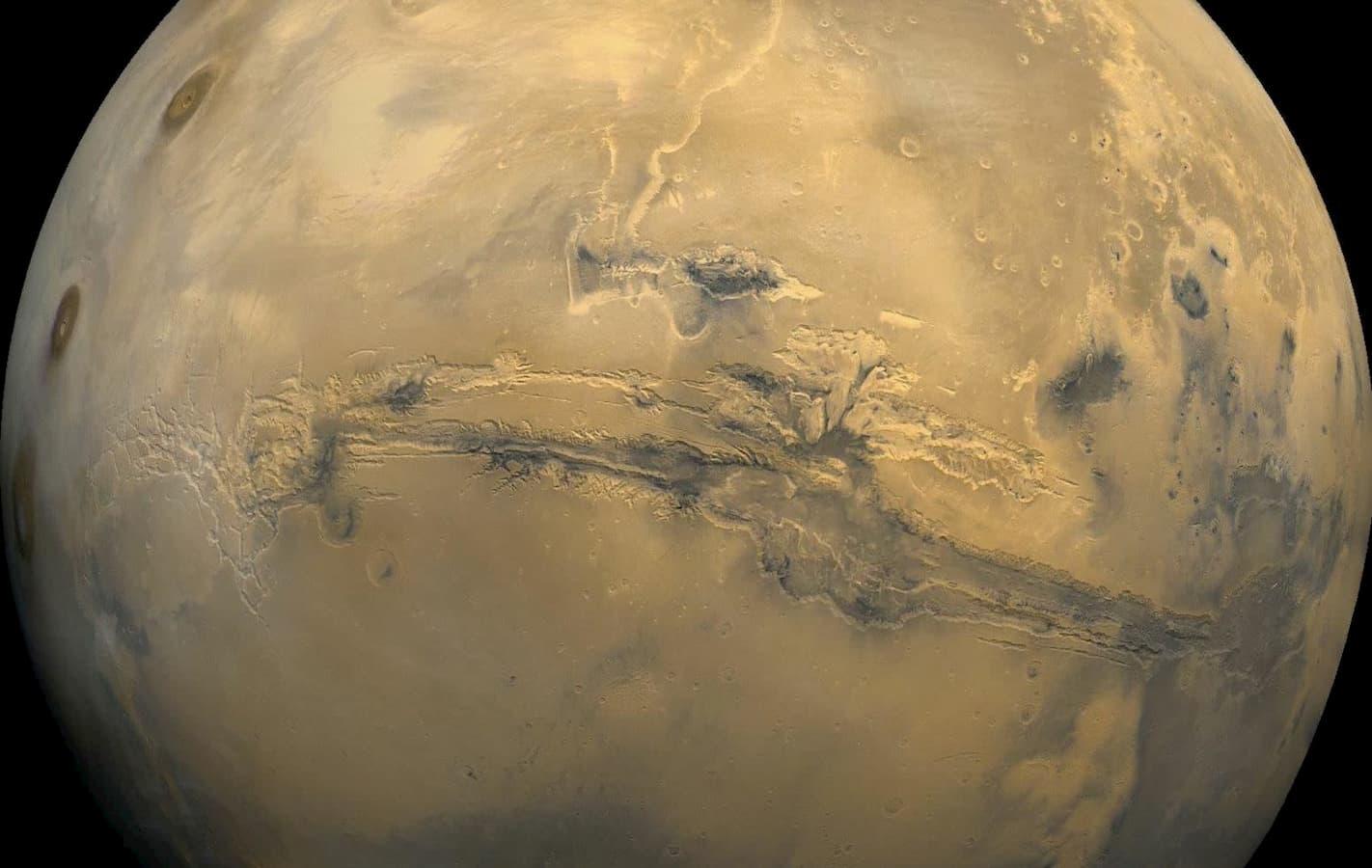 Valles Marineris em Marte