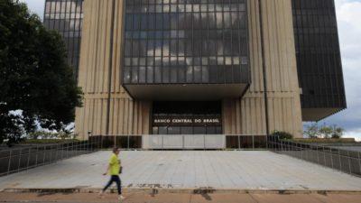 Edifício-sede do Banco Central.