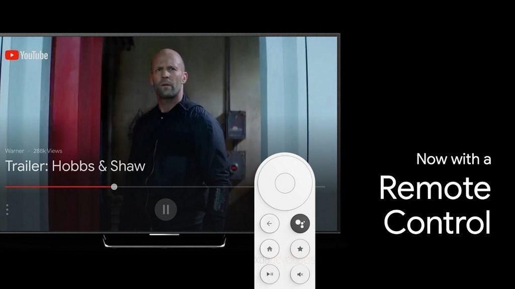Controle remoto do substituto do Chromecast codinome Sabrina