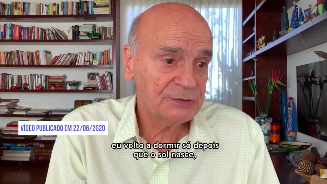 Vídeo do médico Drauzio Varella sempre conta com data estampada