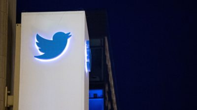 Logotipo do Twitter. Crédito: osh Edelson/AFP (Getty Images)