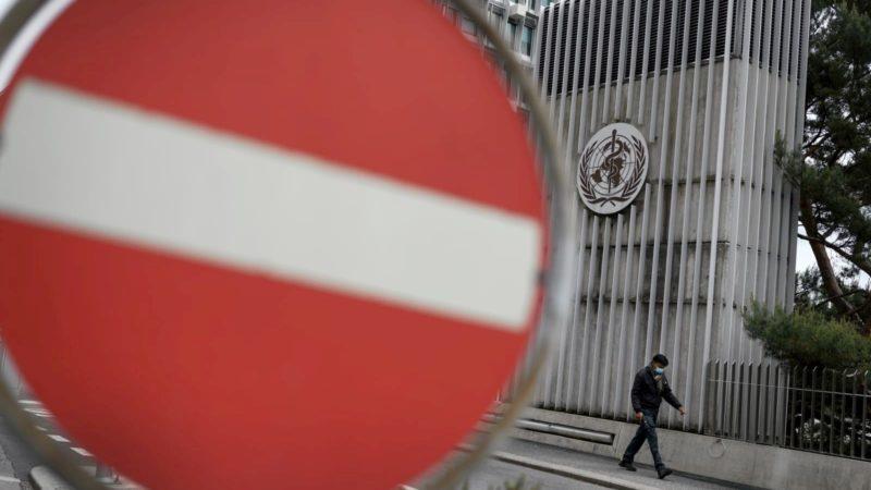 Sede da OMS em Genebra, Suíça