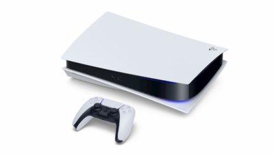 PlayStation 5 ao lado do DualShock 5