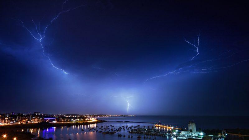 Relâmpago. Crédito: Getty Images