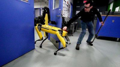 Spot, o cão-robô da Boston Dynamics