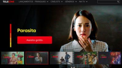 Capa do serviço de streaming Telecine