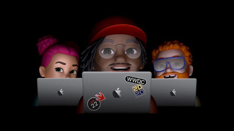 Banner promocional da WWDC 2020