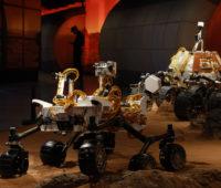 Exposição de modelo de rover que a China enviará para Marte. Crédito: Ng Han Guan/AP