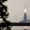 Lançamento da sonda Perservarance com destino a Marte. Crédito: NASA/Joel Kowsky