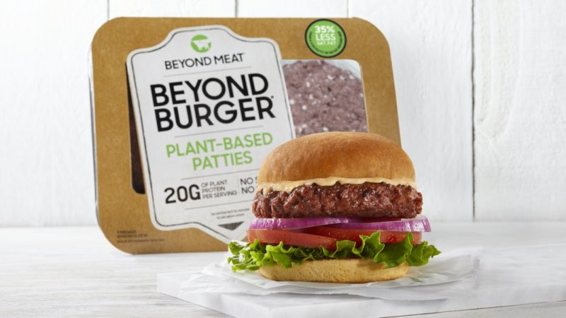 Beyond Burger. Crédito: Beyond Meat