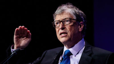 Cofundador da Microsoft Bill Gates. Crédito: Jack Taylor/Getty Images