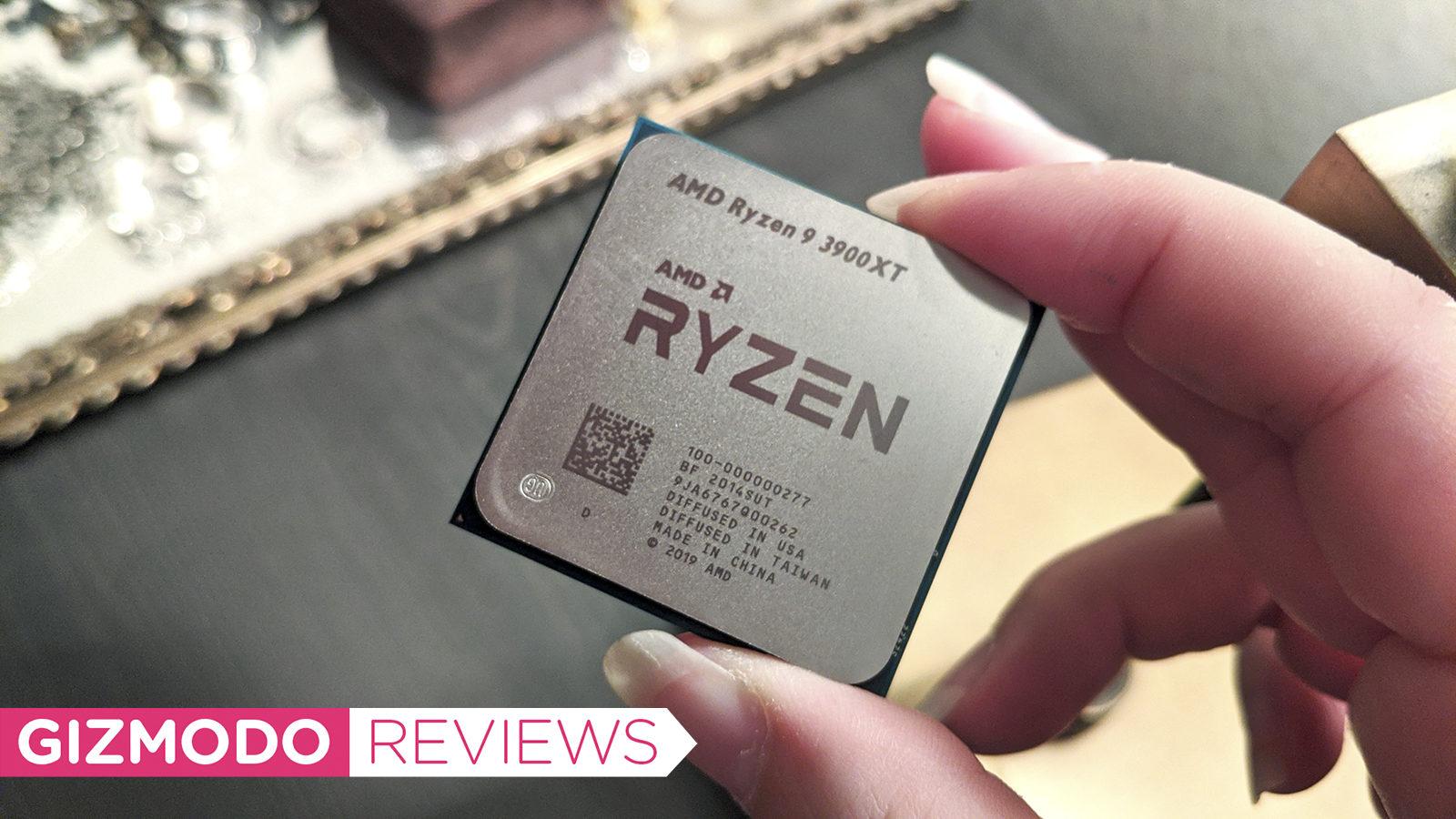 Chip AMD Ryzen 9 3900XT. Crédito: Joana Nelius/Gizmodo