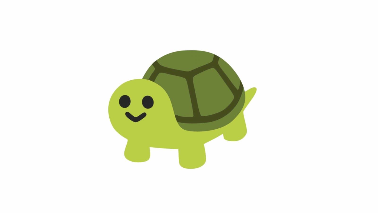 Emoji de tartaruga