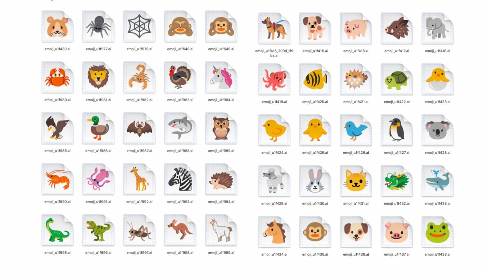 Redesign de emojis do Google para 2020