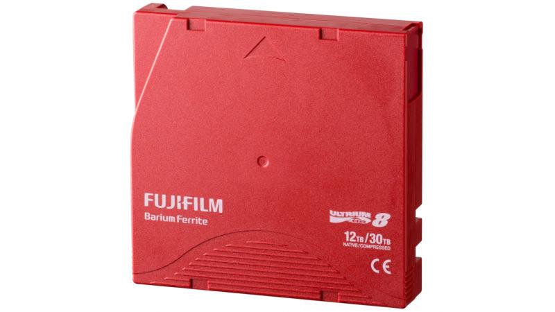 Fita de armazenamento de dados da Fujifilm. Crédito: Fujifilm