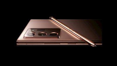 Imagem vazada do Samsung Galaxy Note 20 na cor cobre