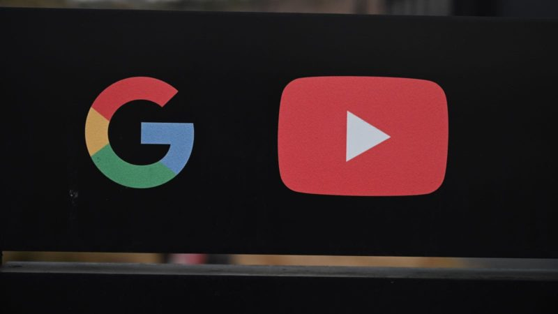 Ícones do Google e YouTube