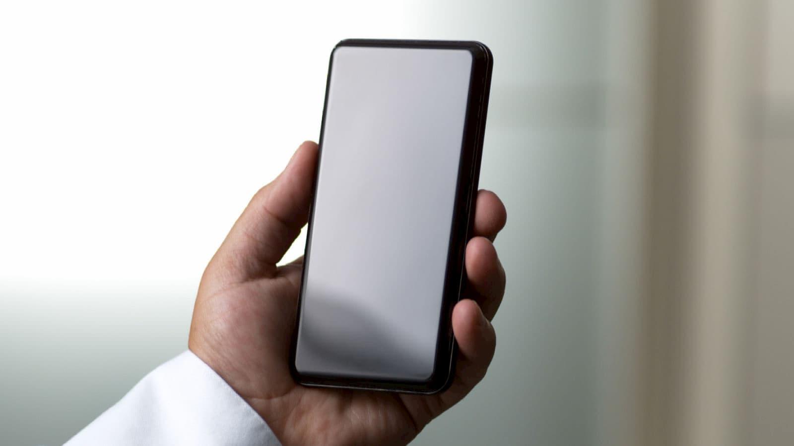 Smartphone de testes da Corning