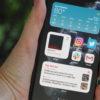 iPhone rodando versão beta do iOS 14. Crédito: Caitlin McGarry