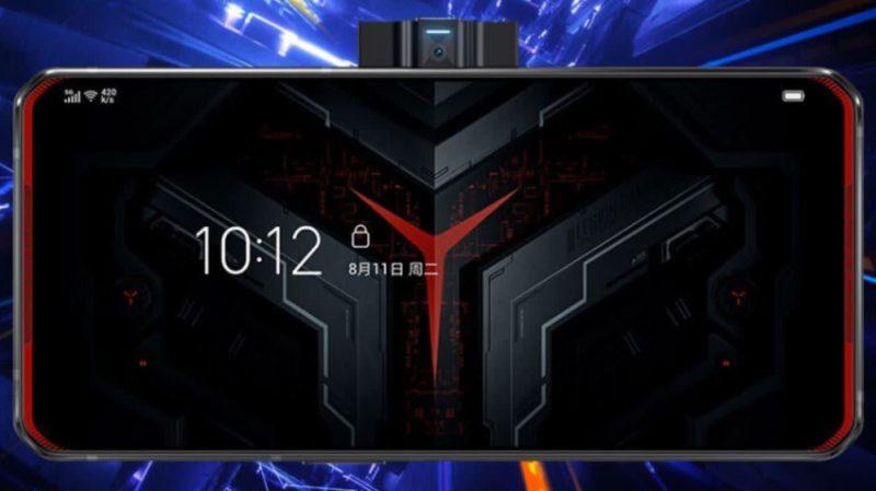 Smartphone gamer Lenovo Legion Gaming Phone Pro. Crédito: JD.com