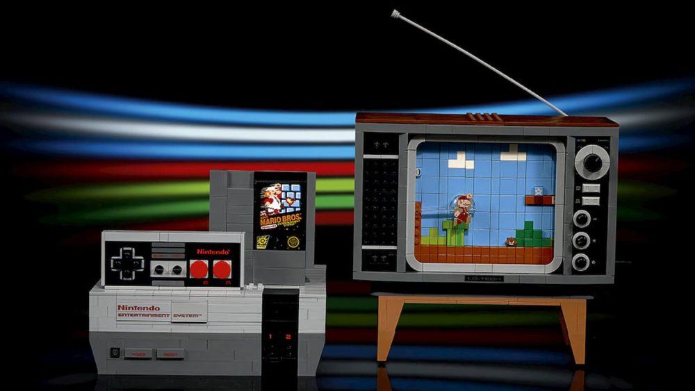 NES ganha réplica de Lego com cartucho do Super Mario Bros