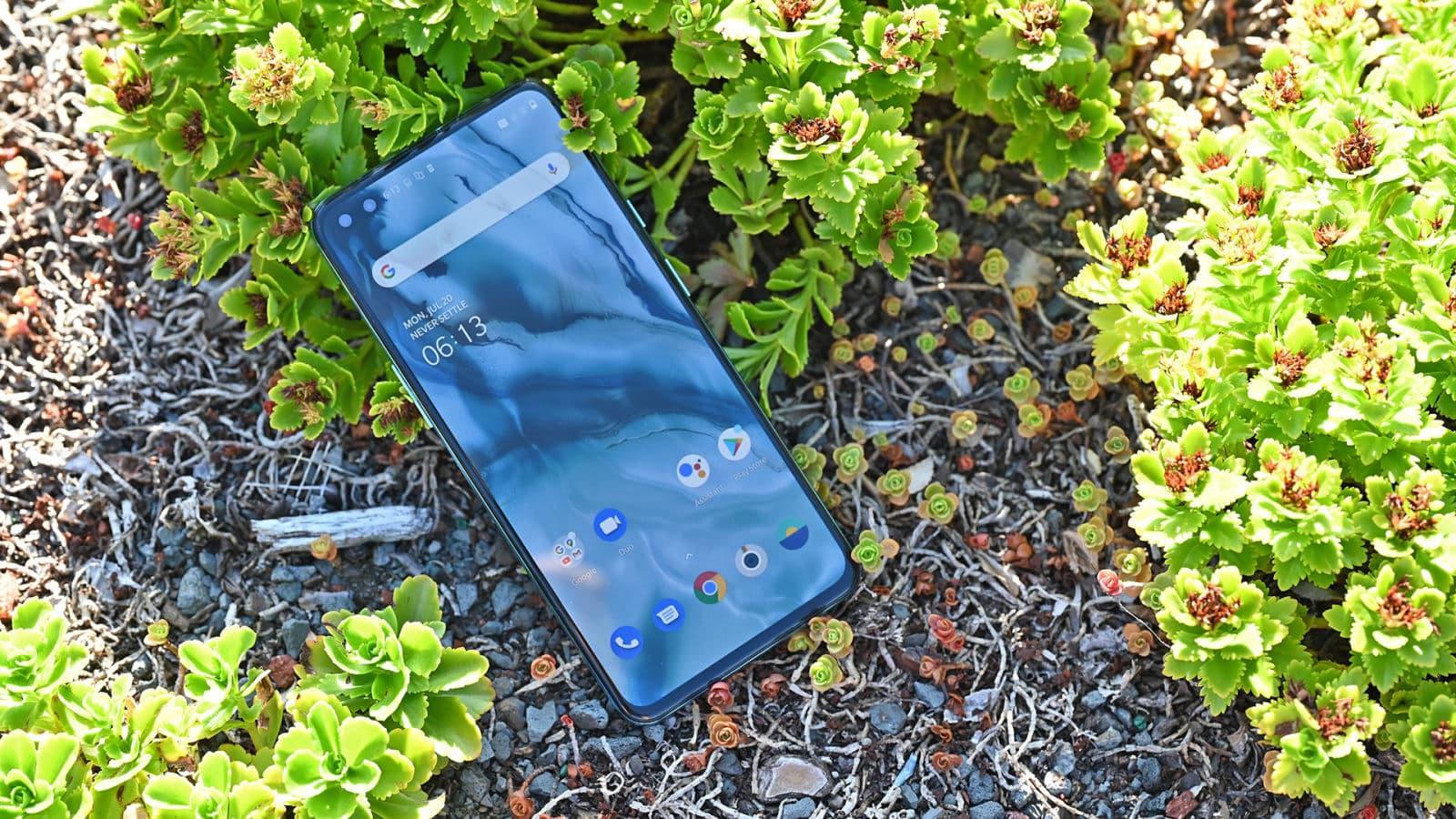 Tela do OnePlus Nord