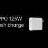Adaptador da Oppo de 125 W; marca diz que ele pode carregar um aparelho em 13 minutos. Crédito: Oppo
