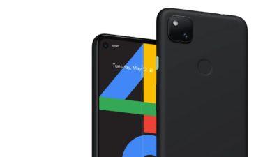 Smartphone Pixel 4a. Crédito: Google