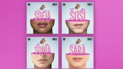 Imagens da assistente Sandra que ganhou nomes diferentes em cada país que foi lançada