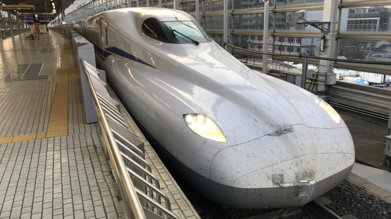 trem bala wikipedia 768x432 - Novo trem-bala do Japão tem bateria para continuar se locomovendo em caso de desastre natural