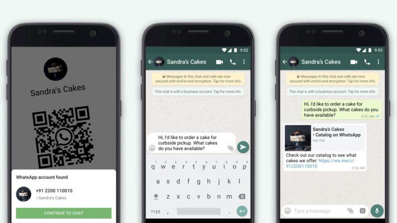 Recurso de QR Code no WhatsApp Business
