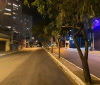 Foto tirada com o Galaxy A51 à noite