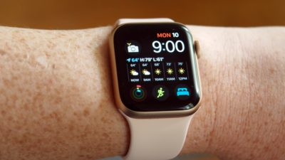 Apple Watch com o sistema watchOS 7. Crédito: Caitlin McGarry/Gizmodo