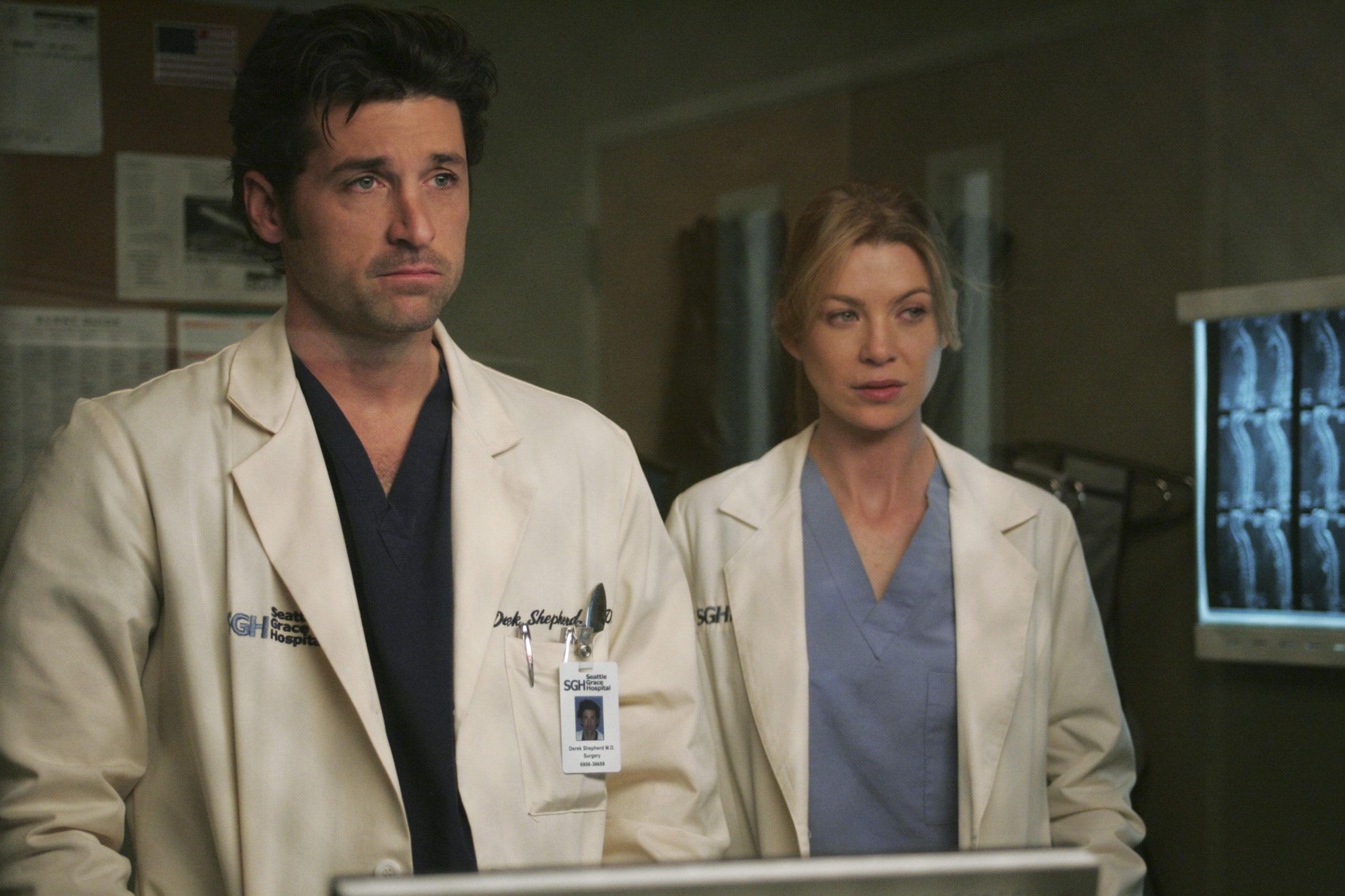Cena da série Grey's Anatomy