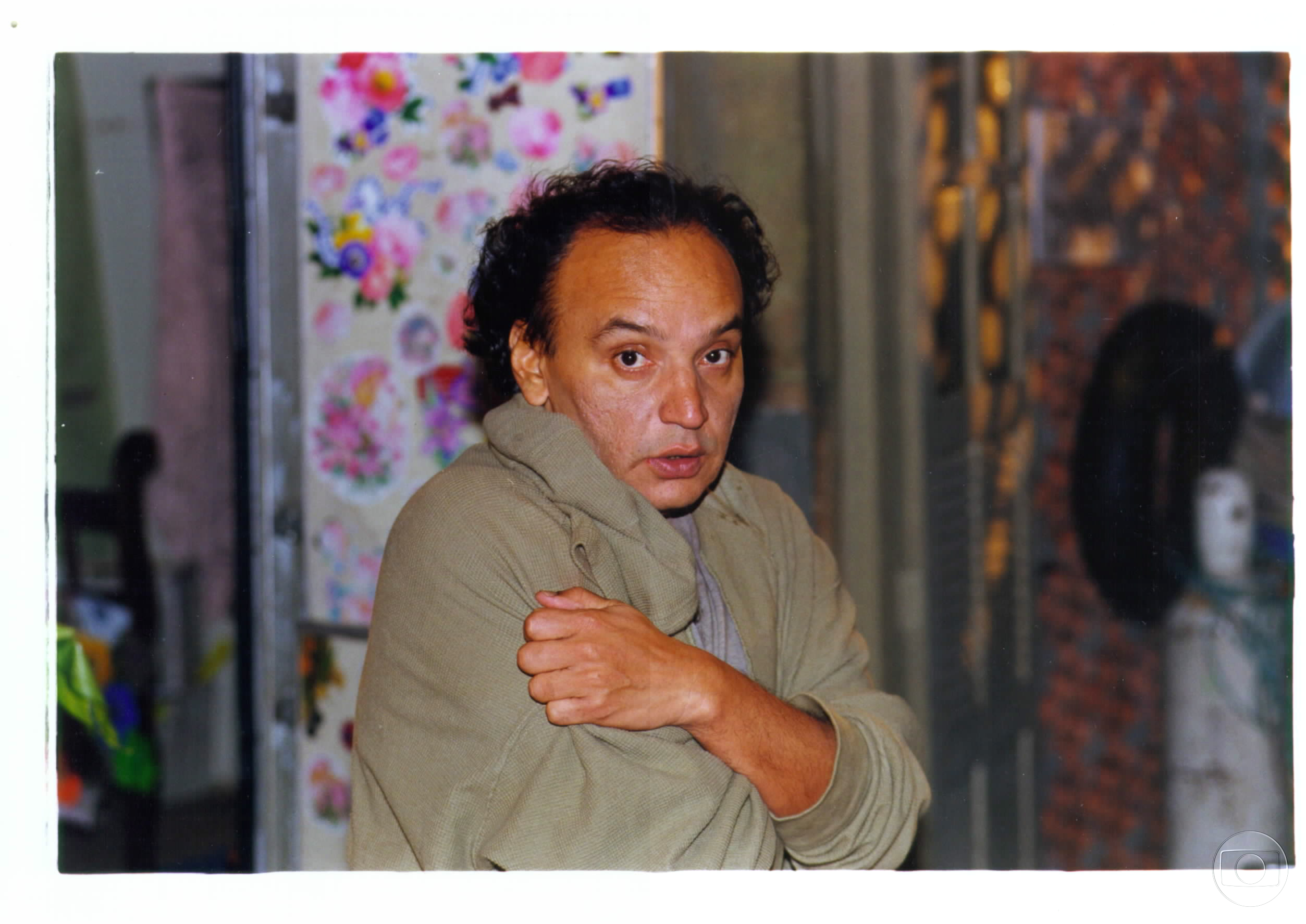 Ator Caca Carvalho, que viveu Jamanta na novela Torre de Babel. Crédito: Globo