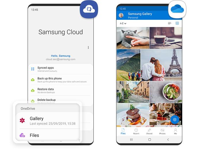 Samsung Cloud perderá Gallery Sync e Drive em 2021. Crédito: Samsung